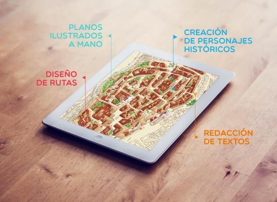 Planos y callejeros turísticos urbanos