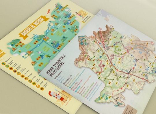 Mapas turísticos